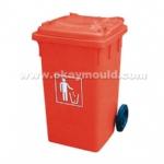 垃圾桶模具07
