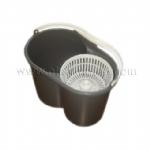 Plastic mop bucket mold